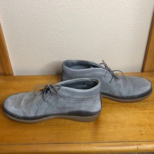 Chaco barely worn suede loafers